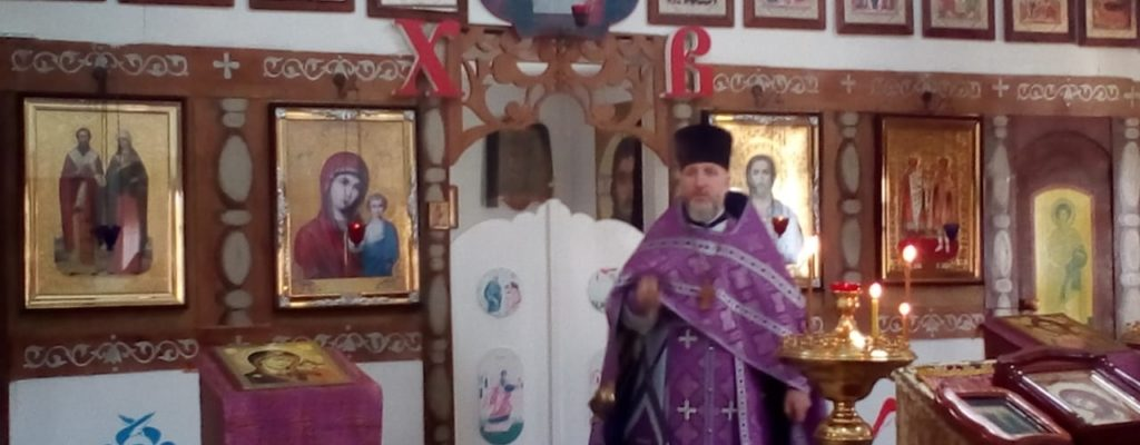 Литургию в день памяти преподобной Марии Египетской
