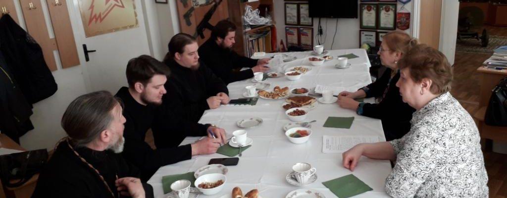 Руководитель ОРОиК Песоченской епархии принял участие в  заседании Комиссии религиозного образования Калужской митрополии